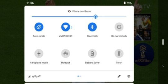 Android pie autorotate