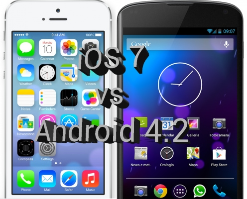 iOS 7 vs Android 4.2