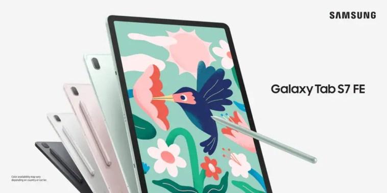 Galaxy Tab S7 FE già in ribasso su Amazon: il tablet Samsung da 12,4″ con S-Pen