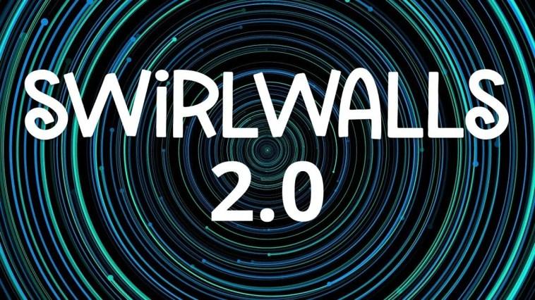 SwirlWalls 2.0 rende lo sfondo del vostro smartphone un fidget spinner (foto)