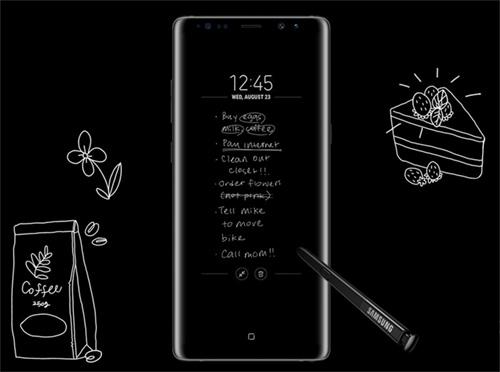 هاتف سامسونج Note 8 هو الأفضل حتي الآن و السبب يعود لـ قلم S-Pen