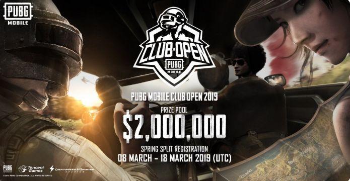 خطوات التسجيل في  دورة PUBG Mobile Club Open 2019