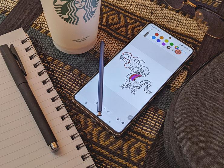مميزات وخصائص قلم S Pen هاتف Galaxy Note10 Lite