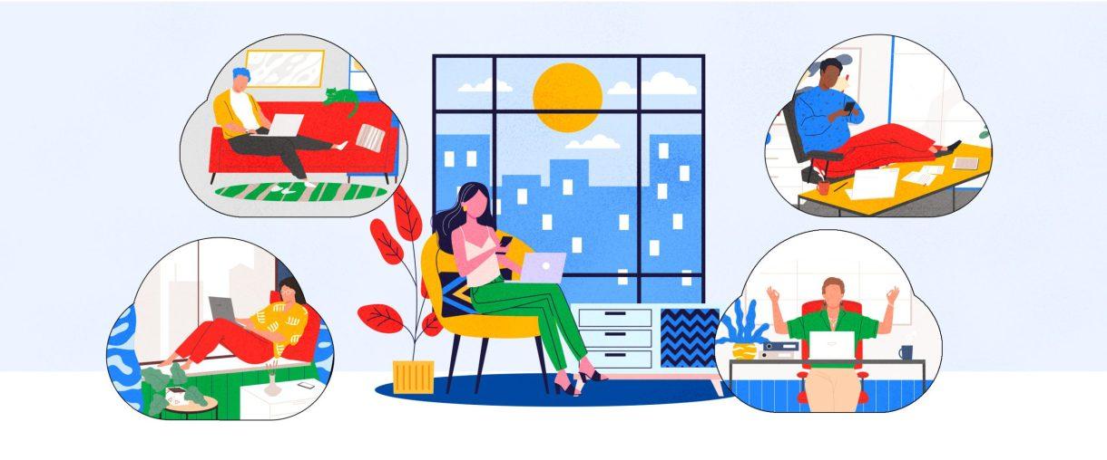 جوجل تطلق خدمة الاجتماعات المرئية Google Meet للجميع مجانًا