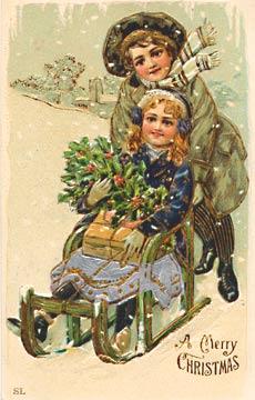 Cartoline Antiche Natale