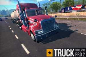 Truck Simulator PRO 2 MOD APK Premium Infinite Money 1.6