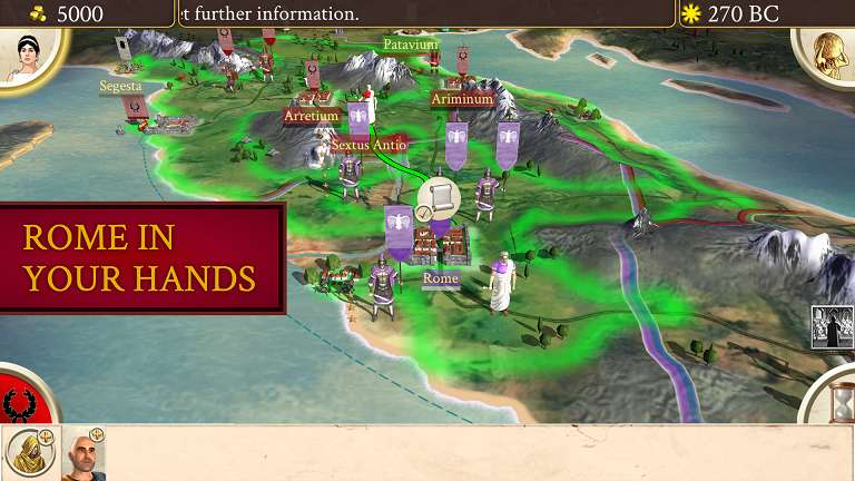 ROME Total War APK MOD Android Fully Working - AndroPalace