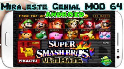 Smash Fighter Scenary Ultimate Mod para Android 2019 mas Emulador