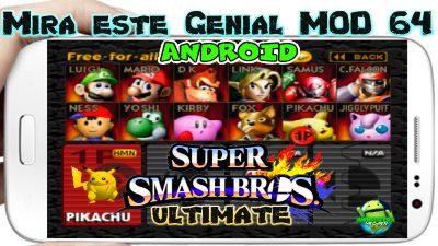 Smash Fighter Scenary Ultimate Mod para Android 2019 mas Emulador