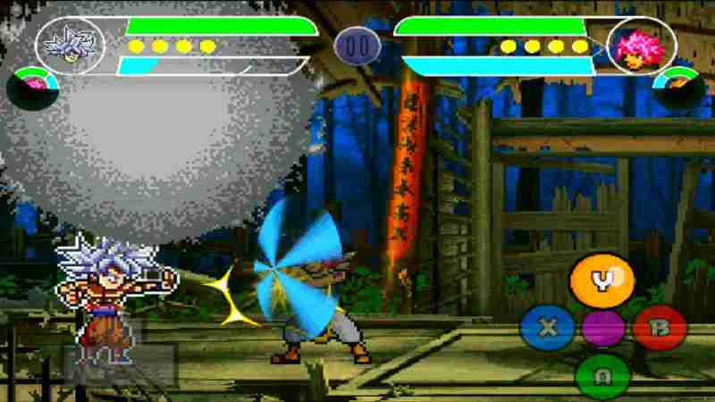 Dragon Ball Z MUGEN Anime All Stars para Android descarga juego apk