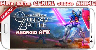 Gundam Battle Gunpla Warfare para Android Juego apk gratis