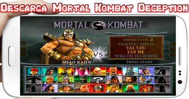 Mortal Kombat APK para Android Offline Descarga gratis juego