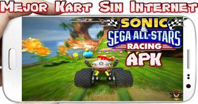 Sonic All Stars Racing apk + obb para android Genial juego de carreras