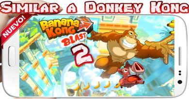 Descargar Banana Kong Blast para Android Nuevo y Genial