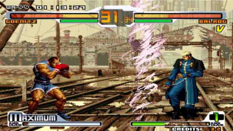 NK vs Capcom Chaos Plus apk sin emulador para Android