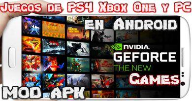 NVIDIA Games MOD Android Brutal emulador MOD con Juegos de Steam