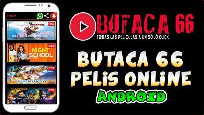 Butaca 66 Mod apk para Android la aplicación aliada para ver Cine Móvil