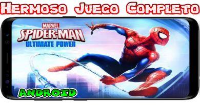 Spider-Man Ultimate Power Completo para Android Increíble juego clásico