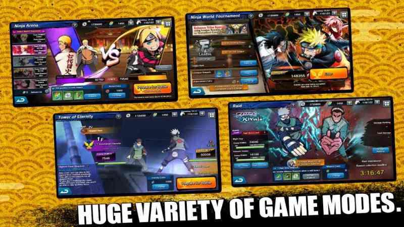 Naruto X Boruto Ninja Tribes para Android Un juego de calidad