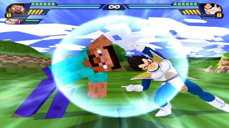 Super Mega iso Mod crossover de Dragon Ball