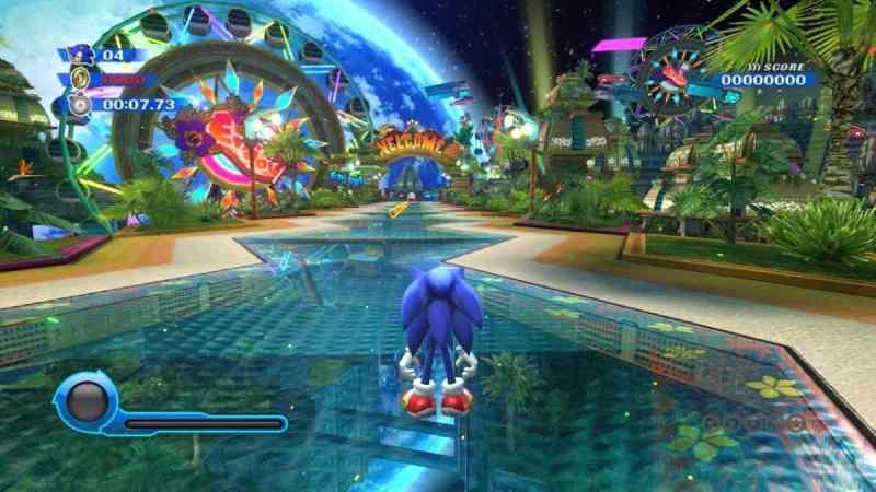 Sonic Colors El juego