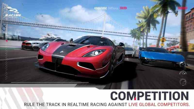 Racing Master APK Android Gráficas extremas