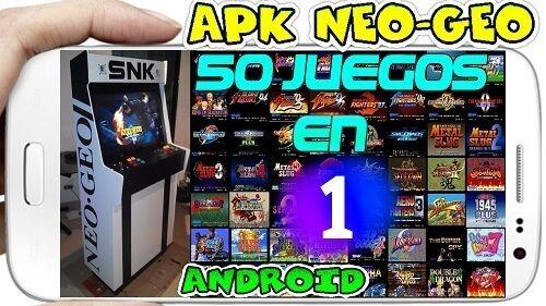 50 Juegos en 1 NEO-GEO Android