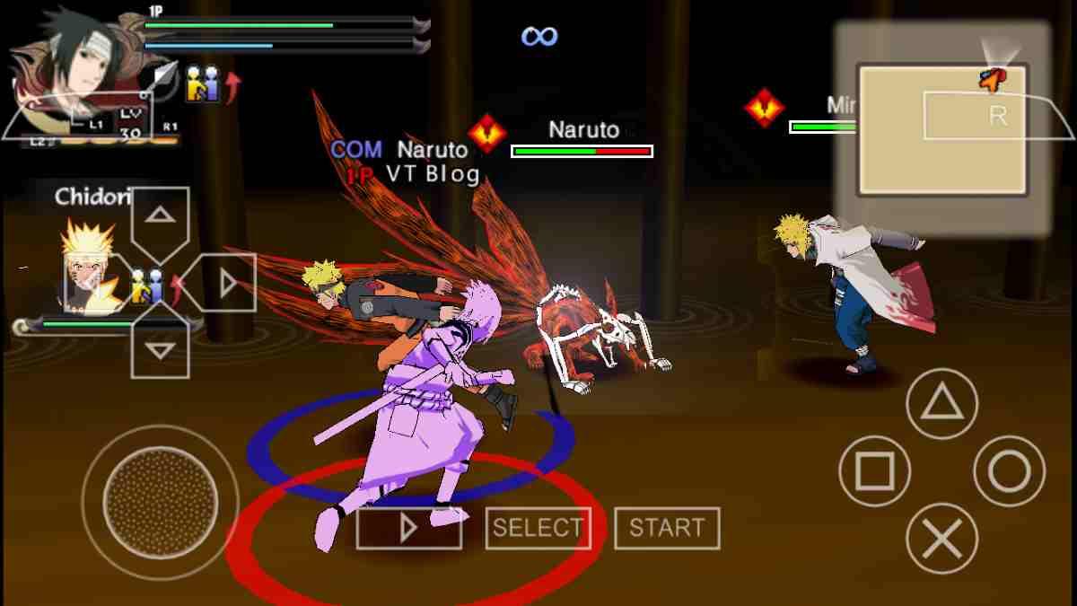 Naruto Shippuden Ultimate Ninja Storm 4 PSP Mod