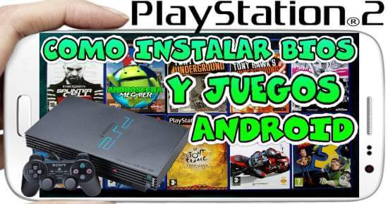 Como Instalar Bios en Emulador PS2 DamonPS2 Android