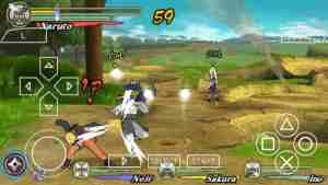 Naruto Shippuden Ultimate Ninja Heroes 3 apk sin emulador