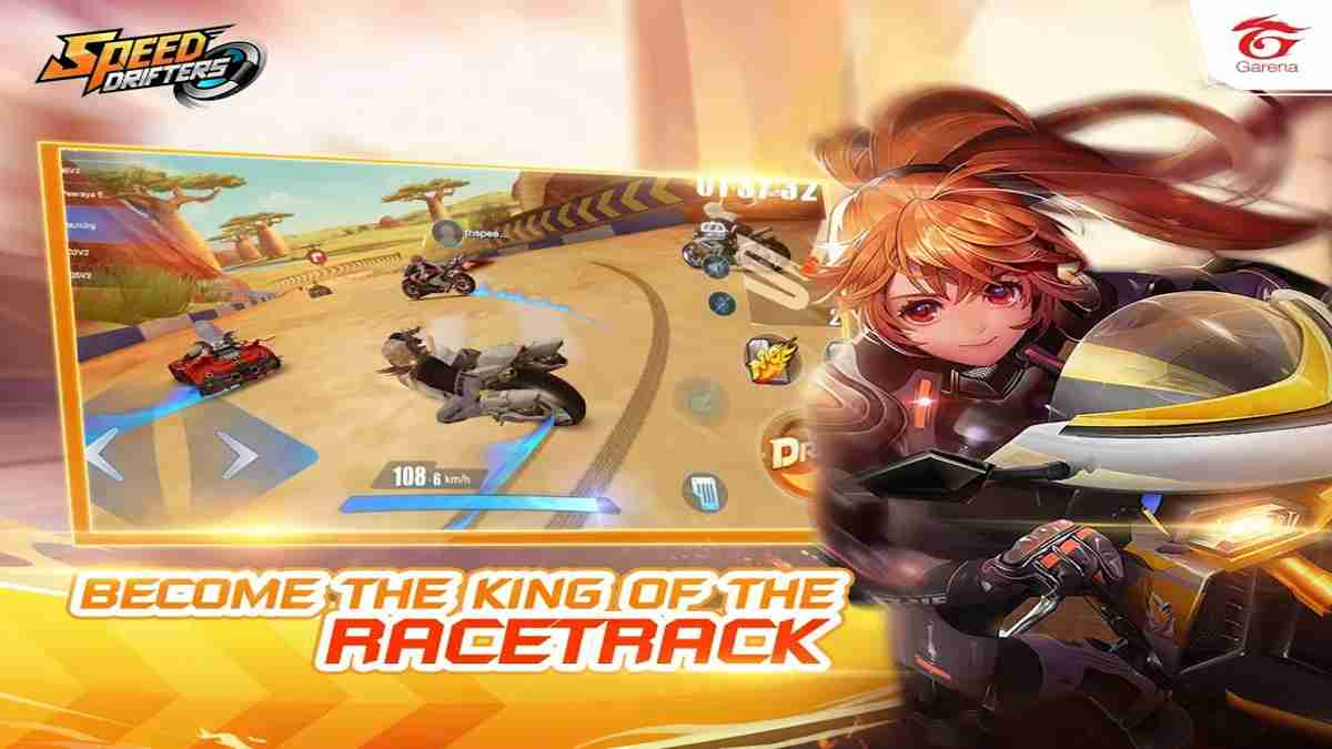 Garena Speed Drifters para Android en Audio Latino