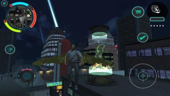 Battle Angel para Android juego apk similar a GTA San Andreas