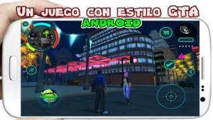 Battle Angel para Android juego apk similar a GTA San Andreas 3
