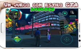 Battle Angel para Android juego apk similar a GTA San Andreas 3