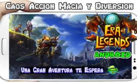 Era of Legends apk para Android Fantasy MMORPG in your mobile