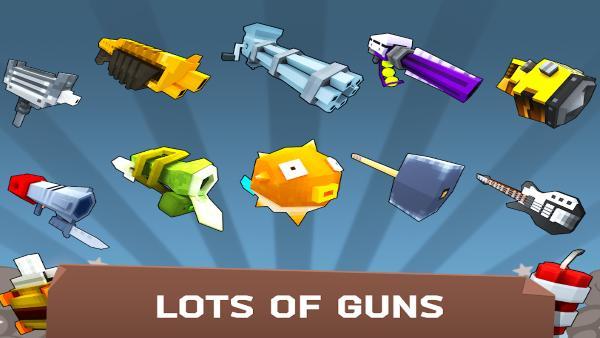 Fury Wars para Android Funny third person shooter apk