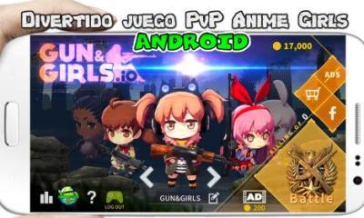 Gun&Girls.io apk para Android Divertido juego PvP online