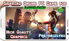 Silkroad Online para Android 3D MMORPG mobile game
