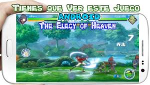 The Elegy of Heaven para Android Anime de Luchas que debes Jugar