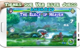The Elegy of Heaven para Android Anime de Luchas que debes Jugar