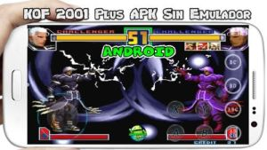The King Of Fighters 2001Plus Android apk sin emulador