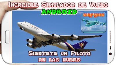Airplane Free Fly Simulator para Android Descarga