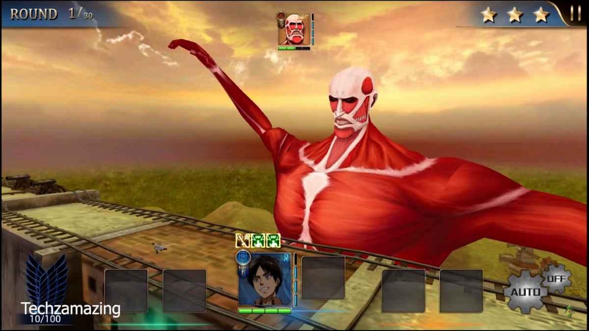Attack on Titan Assault para Android Descarga apk gratis