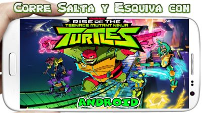 Rise of the TMNT Ninja Run para Android