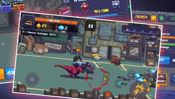 Street Heroes Super Kat Man Beat Zombie