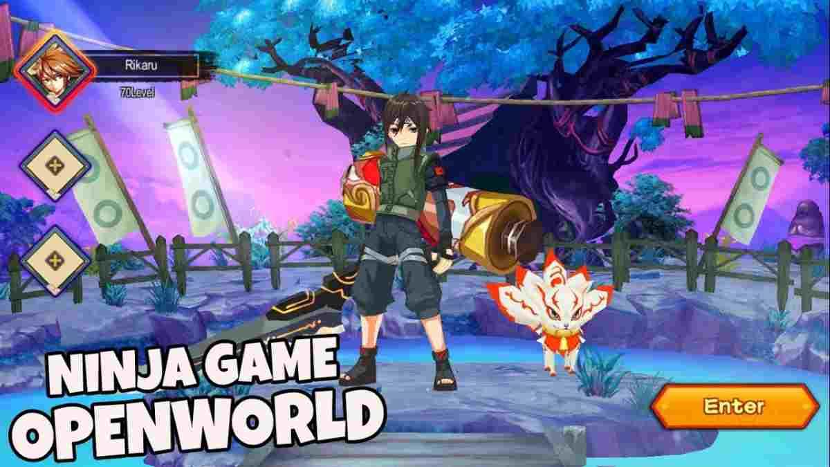 Super Ninja Spirit apk para Android juego similar a naruto