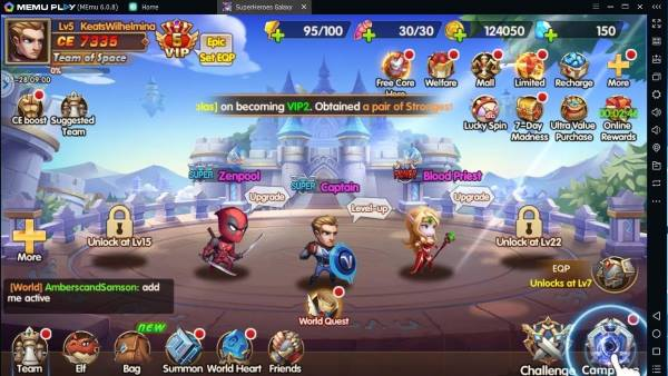 SuperHeroes Galaxy Olympus Rising apk for android