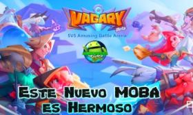 Vagary 5v5 MOBA Android Super Ligero y Gráficos de Consola