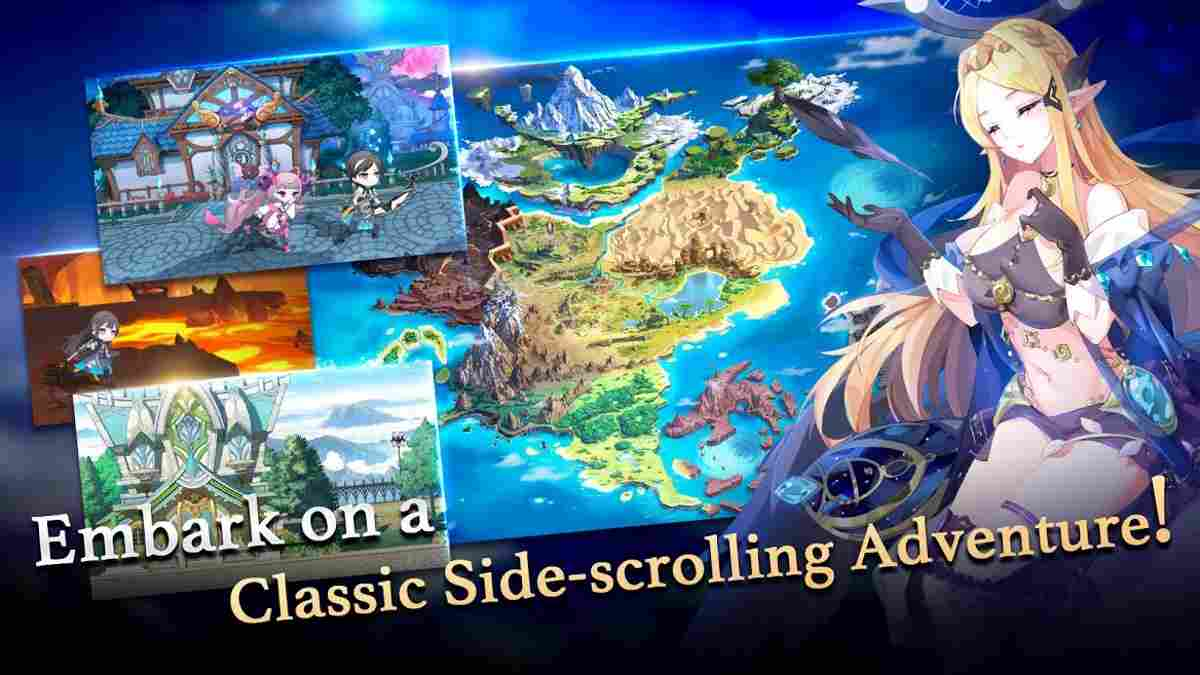 Astral Chronicles para Android Juego JRPG de Gran calidad