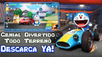 Doraemon Dream Car Racing para Android Genial juego de carreras